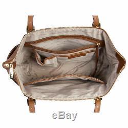 Michael Kors Jet Set Saffiano Luggage Leather Large Tote Handbag 30F4GTTT9L