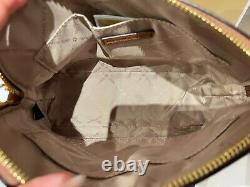 Michael Kors Jet Set Travel Dome Xcross Crossbody Bag Brown Luggage