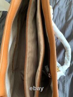 Michael Kors Jet Set Travel MD TZ MULT FUNT Gold Chain Luggage 30S6GJ8T2L