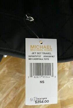 Michael Kors Jet Set Travel Medium Saffiano Leather Carryall Tote