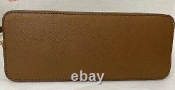 Michael Kors Jet set Travel Medium Emmy Dome Luggage Leather Cross Body Bag