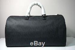 Michael Kors Mens Jet Set BlkTravel Large Duffle Bag & Toiletry Holder Case Set