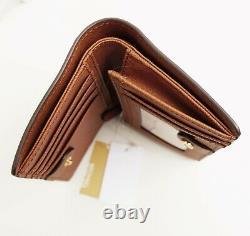Michael Kors Portemonnaie Geldbörse Jet Set Travel Bifold zip wallet Luggage neu
