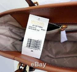 Michael Kors Tasche Handtasche Jet Set Travel TZ Shldr Tote Braun Luggage neu