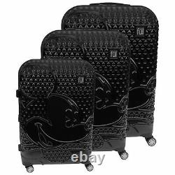 Mickey Mouse FL 3Pcs Rolling Suitcases Set