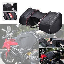 Motorcycle outdoor travel helmet bag saddle bag waterproof double side bag SET