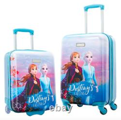 NEW American Tourister Disney Frozen Luggage 2-piece Set, 18 Carry-On, 20