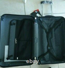 NEW SET x 2 Suitcase Spinner HEYS 26 & 20 carryon Luggage hard case