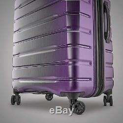 NEW Samsonite Tech 2.0 2-Piece Hardside Luggage Set, Purple (27 and 20)