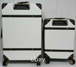 NIOB SwissGear 2-piece Hardside Trunk Luggage Set White