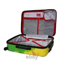 New Mia Toro Italy-Prado-Love Happiness Spinner Luggage 3pc Set 20, 24, 28