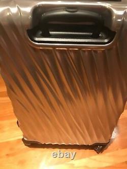New TUMI 19 Degree Short Trip & International SET 2 Packing Case SILVER