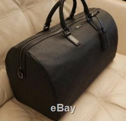 New W Tags Michael Kors Black Large Duffel Travel Jet Set Mens Bag Black $598