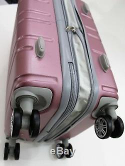 Nwt Pink Hardcase Spinner Suitcase Luggage Upright Expandable 202630 3pcs/set