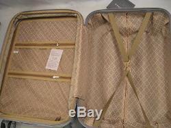 Nwt Silver Blue Abs Hardcase Spinner Suitcase Luggage Upright 202630 3pcs/set