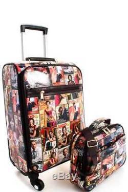 Obama Magazine Print 2-piece Carry On Luggage Set