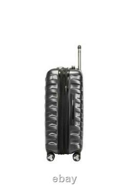 Ricardo Half Dome 3-piece Hardside Spinner Set Gray Carry-On Luggage