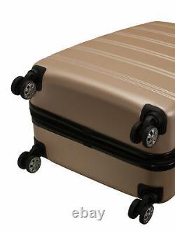 Rockland Melbourne 2 Piece Hardside Spinner Luggage Set