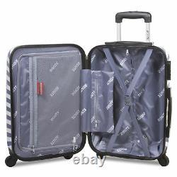 Rolite Beach Stripe 3-Piece Hardside Spinner Luggage Set