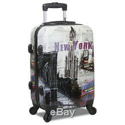 Rolite New York 3-Piece Lightweight Spinner Luggage Set