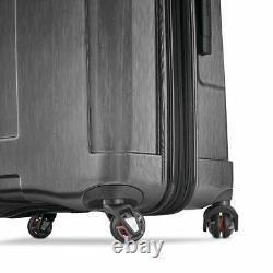 Samsonite Carbon Elite 2.0 Two Piece Hardside Spinner Set With USB Port, Dark Grey