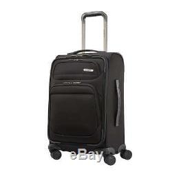 Samsonite Epsilon NXT 2-piece Softside Spinner Luggage Set Black