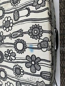 Samsonite Fashionaire 2 Piece luggae Set black and white flowers