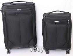Samsonite SoLyte DLX Lift Spinner Wheeled Expandable Suitcase Luggage Set of 2