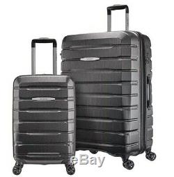 Samsonite TECH TWO 2.0 2-Piece Hardside 27 & 21 Travel Luggage Set, Gray
