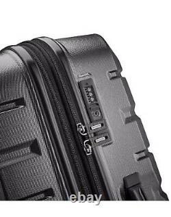 Samsonite Tech 2.0 2-Piece Hardside Luggage Set, Gray (27 and 20)