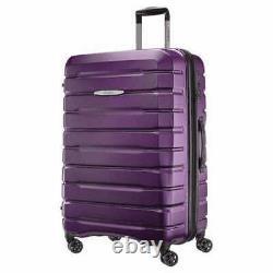 Samsonite Tech 2.0 2-Piece Hardside Spinner Set-Purple. FREE SHIPPING