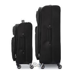 Samsonite Transyt Expandable Softside Luggage Set with Spinner Wheels, 2-Piece