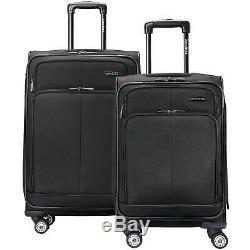 Samsonite Versatility 2-Piece Luggage Set In Black