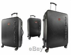 Set 3 Top Quality Travel Suitcases Hard Shell ABS Lightweight Luggage Travel Bag