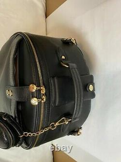 Smart Birdy WINGS Jet Setter Luggage Carry-On Set Black/Gold Sting Ray Roller