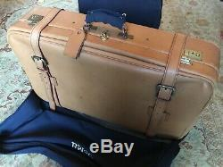 Swaine Adeney Brigg Luggage Set, Handmade In England, HRH Royal Warrant, Leather