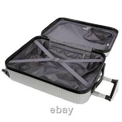 Swiss Gear Freerun Elite Collection 3-piece Hardside Luggage Set -Silver