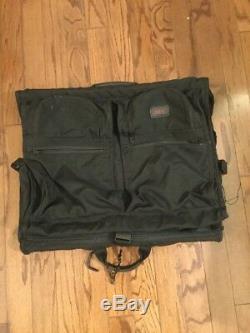 TUMI ALPHA BLACK BALLISTIC NYLON Set Of 3 Garment Weekender Lot Bifold Bags