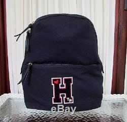 Tommy Hilfiger Retro Varsity Letter Weekender Duffle Backpack Set Travel Bag NWT