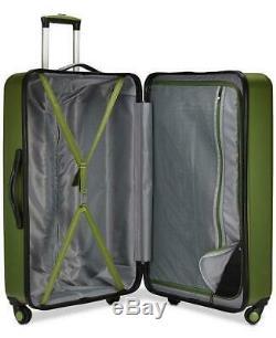 Travel Select Savannah 3 Pc. Hardside Spinner Luggage Set Green