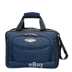 Traveler's Choice Amsterdam Blue 3-Piece Expand Rolling Luggage Suitcase Bag Set