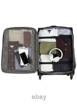 Travelpro TourGo Lightweight Softside 2-Piece 21/25 Luggage Set, Black New