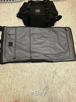 Tumi Travel Set Alpha Trifold Garment Bag and Soft Travel Duffle