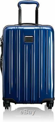 Tumi V3 Expandable Luggage Set Blue International & Short Trip case $1400