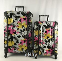 Tumi V3 Medium Trip & International Carry-On Floral Luggage Set 280325 & 280320