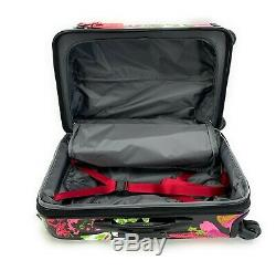Tumi V4 International Carry-On Luggage Collage Floral Hagen Backpack Magenta Set