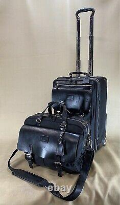 Used TUMI Townhouse carryon luggage set 16 Briefcase & 20 Exp wheeled suitcase