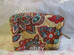 VERA BRADLEY Weekender Large Cosmetic Bag SET Travel College DESERT FLORAL