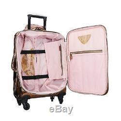 VUE Metallic Collection Premium Carry On 3pc Luggage Set 2070-Rose Gold