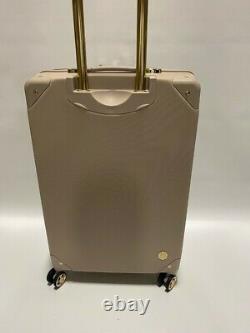 Vince Camuto 28/24 Luggage Set Spinner Wheels Gold Studs Latte Msrp $700